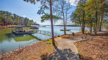 Two docks come with this amazing estate!